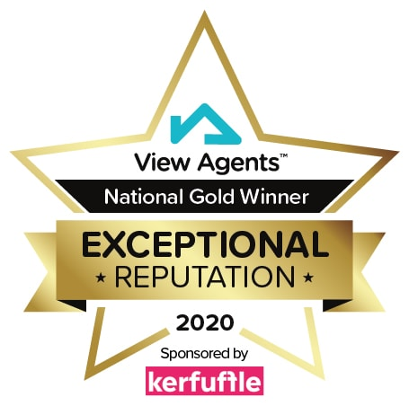 2020 Gold View Agents Award Badge